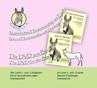 Asinella Book donkeys and humans 2nd edition